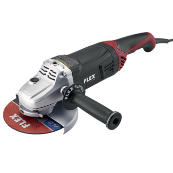 15 Amp 7 inch Large Angle Grinder with Trigger Lock-On Switch