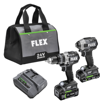 HAMMER DRILL WITH TURBO MODE AND QUICK EJECT IMPACT DRIVER KIT