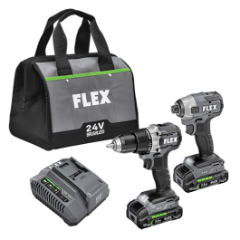 DRILL DRIVER AND IMPACT DRIVER KIT