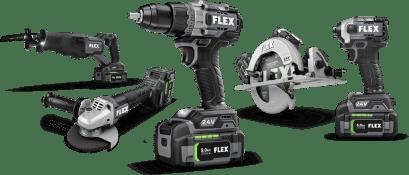 Array of Flex Tools