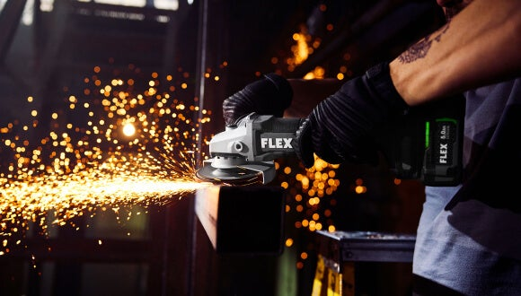 """FLEX 5"""" Variable Speed Angle Grinder with Paddle Switch"""